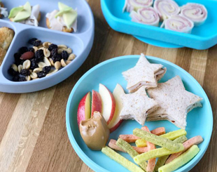 Kid-Friendly Snack Plate Lunches