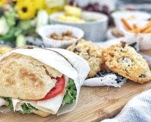 Turkey Sandwich on Ciabatta
