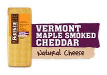 all natural maple smoked cheddar