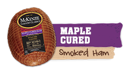 maple sugar cured ham