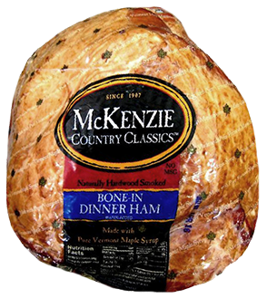 bone-in 9-13 lb dinner ham
